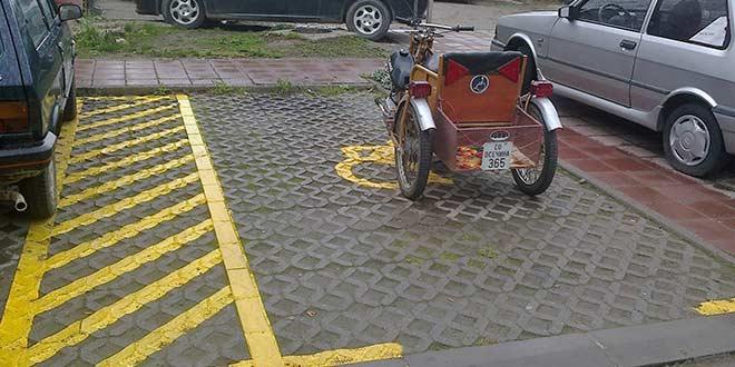 U Osečini i Peckoj: Parking za invalide