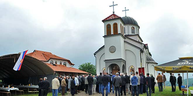 PLUŽAC: Prva slava prvog manastira