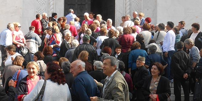 """Пензионери на """"Опленачкој берби"""" у Тополи"""