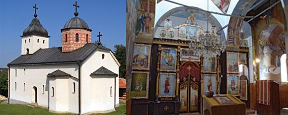 Crkva u Lopatnju i crkva u Komiriću