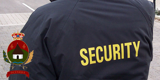 Odluka o dodeli ugovora za obezbeđenje zgrade Opštinske uprave Osečina