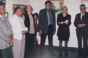 Отварање изложбе у Београду