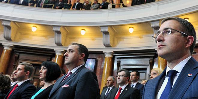 КОНСТИТУТИВНА СЕДНИЦА СКУПШТИНЕ СРБИЈЕ: Драган Алексић положио заклетву