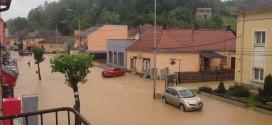 ŠTAB ZA VANREDNE SITUACIJE: Tri kuće srušene, a oko 500 poplavljeno
