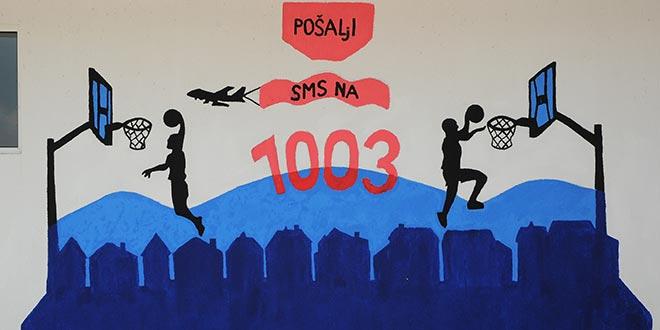 HUMANITARNA AKCIJA: Grafit krasi Sportski centar