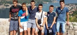 Mladi košarkaši Osečine boravili u Kotoru