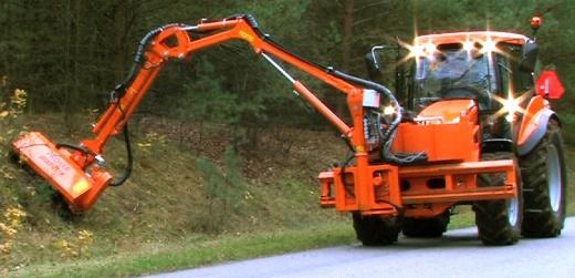 Uređenje zaštitnog pojasa lokalnih puteva