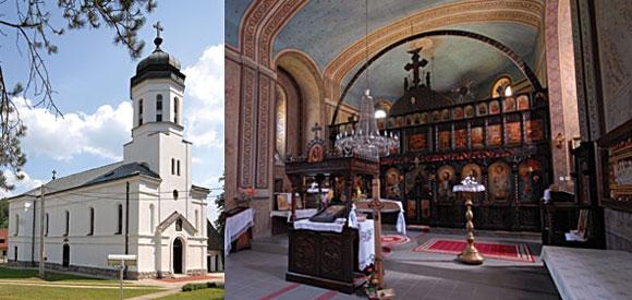 Цркве у Осечини