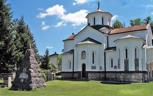 Црква у Пецкој и Црква у Скадру
