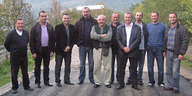 Прва фаза асфалтирања пута за Рожањ