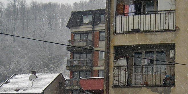 Први снег у новој зимској сезони