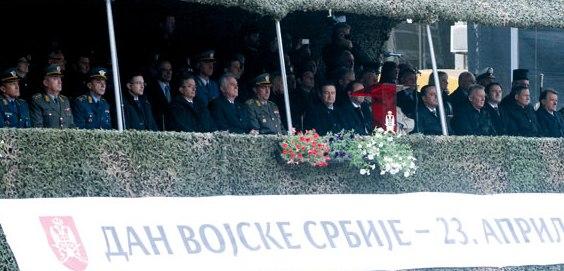 ДАН ВОЈСКЕ СРБИЈЕ – Ненад Стевановић међу званицама и гостима