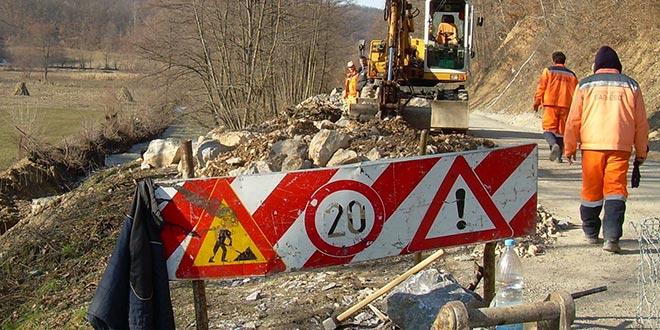 Извођење радова на ревитализацији пољских путева у општини Осечина