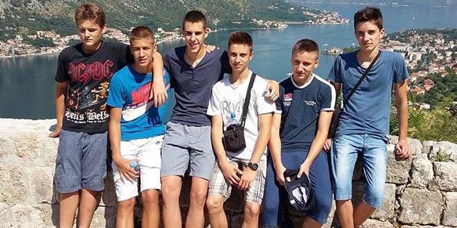 Млади кошаркаши Осечине боравили у Котору