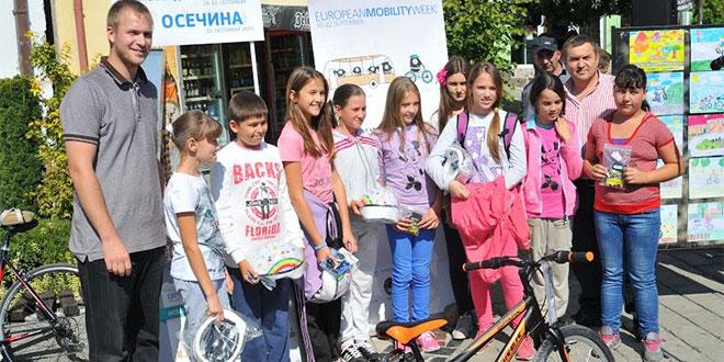 EVROPSKA NEDELJA MOBILNOSTI: Pobedniku likovnog konkursa – bicikl