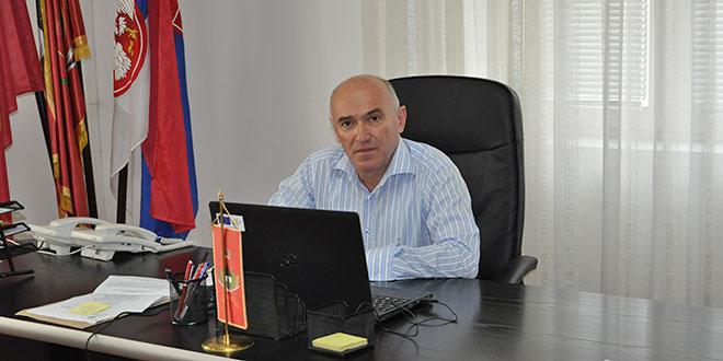 Predsednik opštine Dragan Aleksić