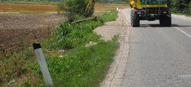 ОДЛУКУО ДОДЕЛИ УГОВОРА: уређење заштитног појаса локалних путева